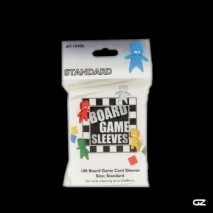 Board game sleeves-clear-standard