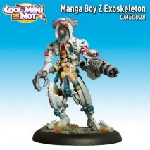 Figurine mangaboyz exosquelette