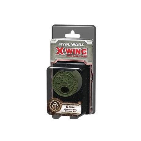 X-wing Scum maneuver dial