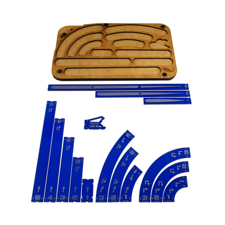 X-wing Space figther manouver tray navy