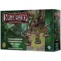 Runewars commandant infanterie elfes latari