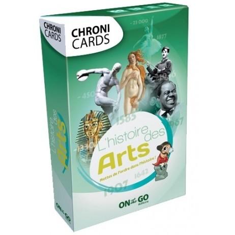 Chronicards histoire de arts