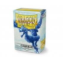 Dragon shield clear blue matte