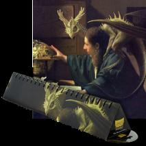 Dragon shield playmat - the astronomer