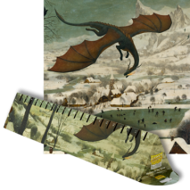 Dragon shield playmat - Hunters in the snow