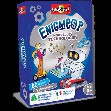 Énigmes - Nouvelles technologies