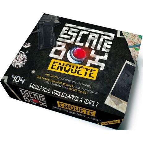 Escape box enquête