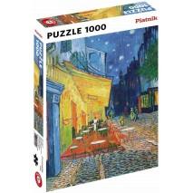Puzzle 1000p Van Gogh - Le café le soir