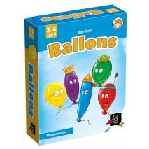 Ballons boite métal
