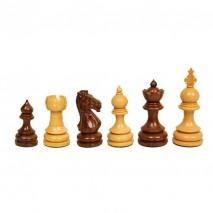 Pièces échecs staunton bois rose/buis n°5