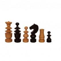 Pièces échecs staunton buis/buis ébonisé n°3