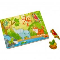 Puzzle musical jungle