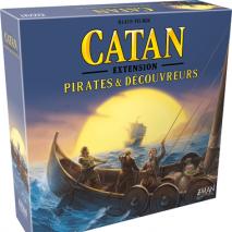 Pirates et Découvreurs Extension Catan