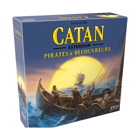 Pirates et découvreurs extension catane