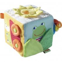 Cube jouet grenouille magique
