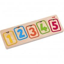Puzzles en bois 1ers chiffres