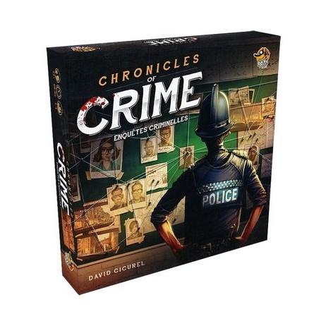 Chronicles of crime enquêtes criminelles