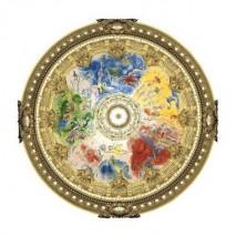 Puzzle bois 80 p Plafond de l'opéra de Paris
