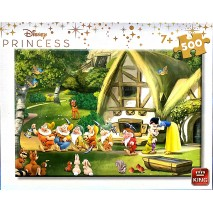 Puzzle 500p blanche neige king