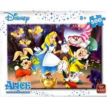 Puzzle 500 p Alice au pays des merveilles