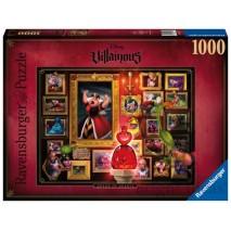 Puzzle Villainous - Reine de coeur 1000p
