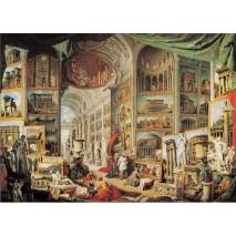 Puzzle galerie avecvues de Rome 1500p