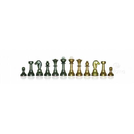 Pièces échecs métal massif Roi 5 cm