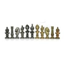 Pièces échecs bustes empereur romain