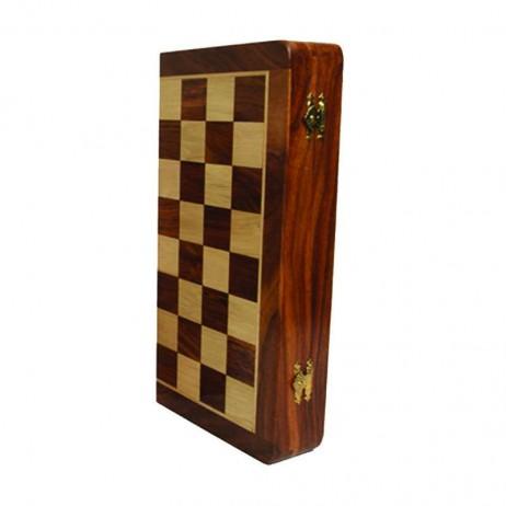 Coffret echecs bois magnétique 30cm
