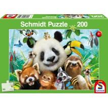 Puzzle 200 p Nos amis les bêtes