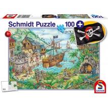 Puzzle 100 p Baie aux Pirates