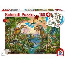 Puzzle 150 p Dinos (Tatouage)