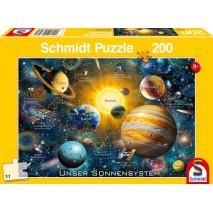 Puzzle 200 p Notre système solaire