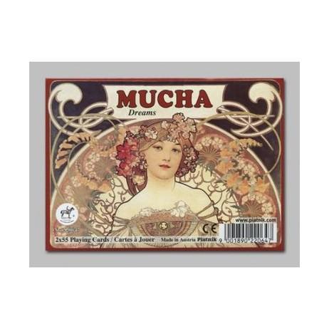 Cartes 2x54 mucha dreams
