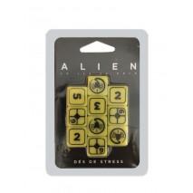 Alien dés de stress jeu de rôle