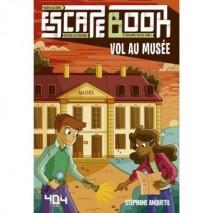 Escape book enfant vol au musée