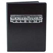 Portfolio A4 180 Cartes Collector Noir