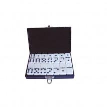 Domino double 6 malette noire
