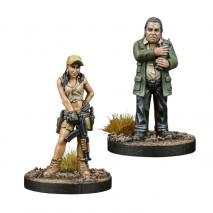 TWD Rosita et Eugene