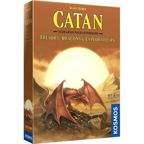 Catan tresors, dragons & explorateurs