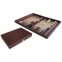 Backgammon bois brun 35x23cm