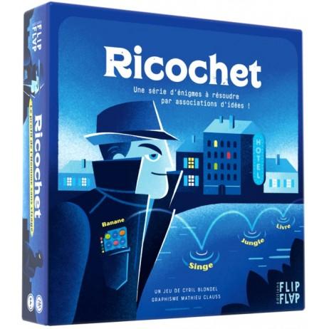 Ricochet bleu