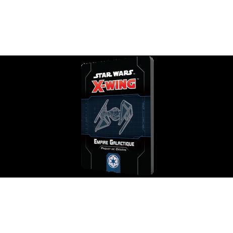 X-wing 2.0 Paquet Dégâts Empire Galactique