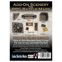 Add-on scenery for RPG battle maps