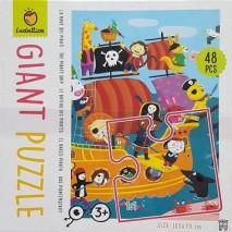 Giant puzzle bateau pirate