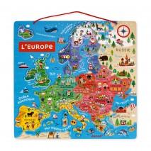 Carte europe magnétique