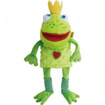 Marionnette roi grenouille