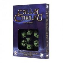 Set de Dés Call of Cthulu 7th edition