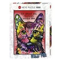 Puzzle 1000 p Cats 9 Lives Heye