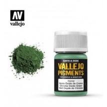 Pigments vert oxyde de chrome